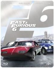 Fast & Furious 6 Limited Edition Steel Book Blu-ray Region - DVD 28vg