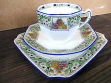 Art Deco / Vintage China Tea set Trio.Royal Doulton.British.3499