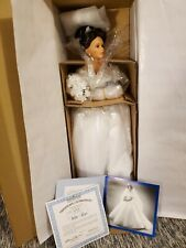 Ashton Drake White Roses Bride Doll