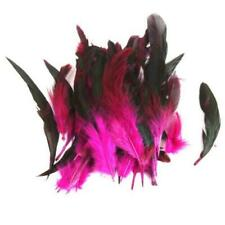 BEAUTIFUL PURPLE FEATHER DRESS EMBELLISHMENT TOPPER FOR CARDS//CRAFTS