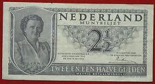 NETHERLANDS 2 1/2 GULDEN 18.2.1943 MUNTBILJET - STATE NOTE  P 65