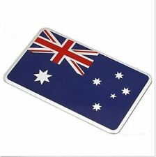 Australian Flag Car Truck Badge Decal Bumper Sticker 80 x 50mm Aluminum Alloy
