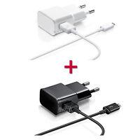 CHARGEUR POUR WIKO MICRO USB KIT 2 EN 1 CABLE + SECTEUR 2A