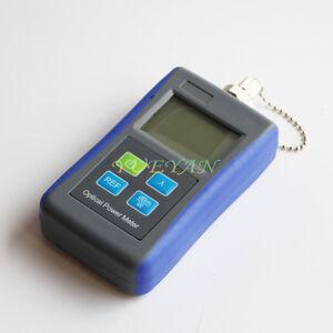 Mini Handheld Fiber Optic Test Tool Optical Power Meter -50`+26dBm FC Adaptor