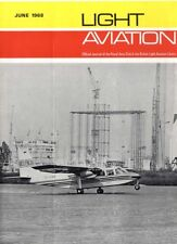 LIGHT AVIATION MAGAZINE 1968 JUN BELL JET RANGER, ISLANDERS IN ACTION