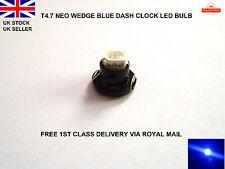 BLUE T4.7 LED SMD FOR VW GOLF MK4 99-2004 DASH CLOCKS LIGHTS BULBS INTERIOR 12V