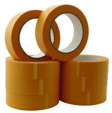 8 Rollen Goldband Abklebeband Malerband 30mm x 50m Klebeband Fineline Tape