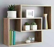 Multi Compartment Display Wall Floating Shelf Wall Decoration OAK