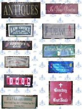 CREATE YOUR OWN  CUSTOM  WOOD SIGN 40 in x 12in HAND LETTERED HAND PAINTED