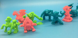 Vintage 1990s - 8 Monster In My Pocket MEG 49, 52, 65, 66, 69, 70, 71, 72