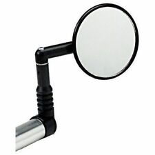"""Mirrycle Bar End Rear View Safety Mirror 3"""" Convex Lens MTB Commuter Bikes"""