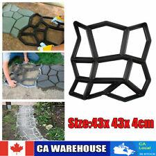 Pavage Moule de Chaussée pour le jardin 42x42x4 cm jeu de Moule à pavé pavage FR