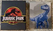 Jurassic Park 25th Anniversary + Fallen Kingdom Steelbook Bluray 5 Movie Lot