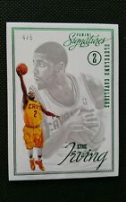 KYRIE IRVING 2012-13 PANINI SIGNATURES EMERALD GREEN ROOKIE #/5! RARE RC CARD SP