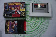 Stunt race FX super nintendo pal GIG