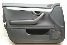 AUDI A4 B7 SALOON LEFT HAND FRONT DOOR CARD / PANEL 8E2867105