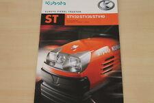 177132) Kubota Diesel Traktor ST 32 STV 36 40 Prospekt 2004