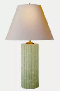 ALEXA HAMPTON LAUREN Table Lamp by Visual Comfort & Co. Celadon BAMBOO HTF