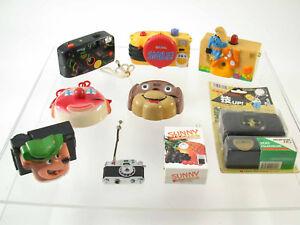 LOT TOY camera YOGI BEAR Clown Sunny fruit gas lighter miniature Kamera Bär /18
