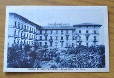 CARTOLINA BAGNI DI MONTECATINI GRAND HOTEL LA PACE VIAGGIATA 1927 SUBALPINA HH