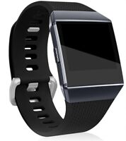 Maledan Replacement Bands/Accessory for Fitbit Ionic Smart Watch, Black, Large
