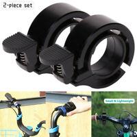 2pcs Slim Design Fahrradklingel Fahrradglocke Fahrrad MTB Roller Klingel Glocke