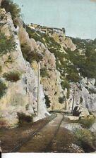 circular bridge hold track below mt lowe ry california postcard dated 1907