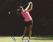 Cheyenne Woods Signed 8×10 Photo LPGA Autographed COA B
