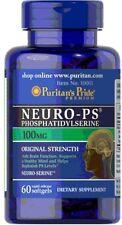 Neuro-Ps (Phosphatidylserine) 100 mg x 60 Softgels  ** AMAZING PRICE **