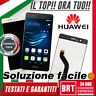 DISPLAY LCD+TOUCH SCREEN ORIGINALE PER HUAWEI P9 EVA-L09 EVA-L19 EVA-L29 SCHERMO