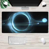 XXL Large Size Gaming Mouse Pad Galaxy Space Black Computer PC Mousepad Desk Mat