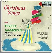 "Fred Waring and the Pennsylvanians - Decca 7"" 5 Song 45 RPM Christmas EP!"