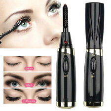 Electric Heated Eyelash Curler Brush Long Lasting Eye Lashes Curling Tool