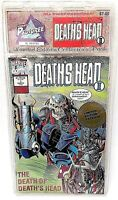 Marvel Comics Death's Head II Issues #1- #4 1992 LIMITED EDITION SET NEW SEALED