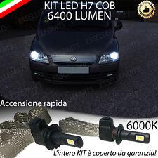 KIT FULL LED FIAT MULTIPLA MK2 LAMPADE H7 6000K XENON BIANCO GHIACCIO NO ERROR