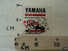 STICKER,DECAL YAMAHA YZF WORLD SUPERBIKE TEAM