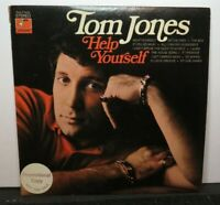 TOM JONES HELP YOURSELF (VG+) PAS-710025 PROMO LP VINYL RECORD