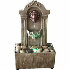 Best Indoor Fountain Buddha indoor fountains with lightning ebay 1 newport coast collection lion head color changing led tabletop water fountain workwithnaturefo