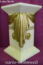 Säule Säulen Sockel Lampe Schale Tisch Vase Büste 1034 / Material : Stuckgips