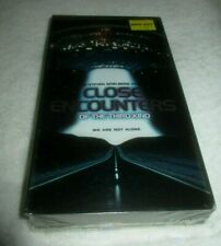 Close Encounters of the Third Kind Collector's Edition Vhs New Factory Sealed Pg