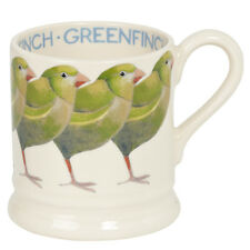 NEW Emma Bridgewater Pottery Greenfinch Half Pint Mug 1st Qual USA SHIP