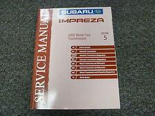 2005 Subaru Impreza Section 5 Transmission Shop Service Repair Manual Book
