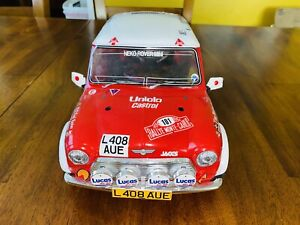 tamiya mini cooper 1/10 As-is Will Run With Battery, Receiver And Transmitter