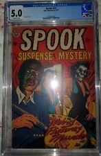 Spook Issue 23 Pre Code Horror March 1953 CGC 5.0 Classic L.B. Cole Cover