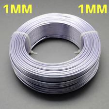 1mm Aluminium Craft Florist Wire Jewellery Making Lavender 10m lengths