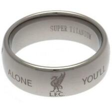 Liverpool FC Super Titanium Ring Small Football Club Fan Birthday PRESENT GIFT