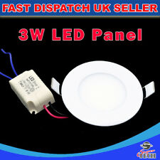 3W LED RECESSED LIGHTING WITH EMERGENCY POWER PACK  PANEL CEILING DOWN LIGHT