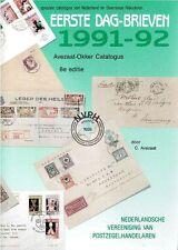 Okker Avezaat catalogus Eerste Dag-brieven Nederland FDC Netherlands catalogue