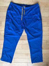 Carhartt Force 2 Xl Women's Flat Front Scrub Bottoms Ceil Blue Pants