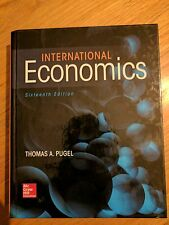 International Economics Sixteenth 16th edition by Thomas A. Pugel